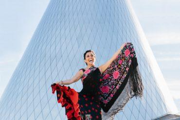 Marisela Fleites, flamenco dancing
