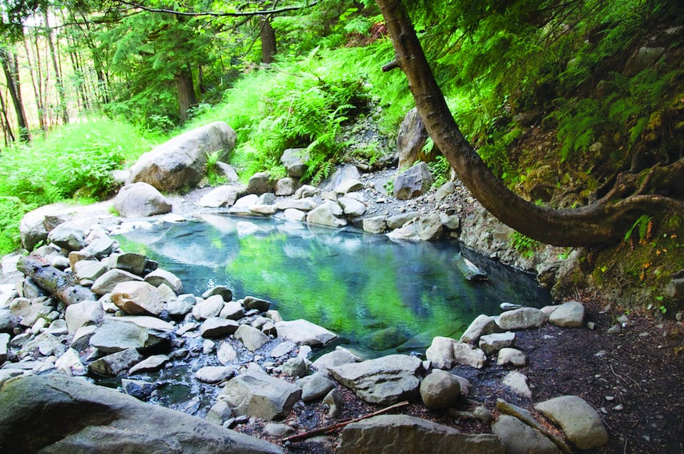 Olympic Hot Springs photo by Ken Reppart