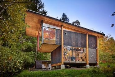 artist's cabin