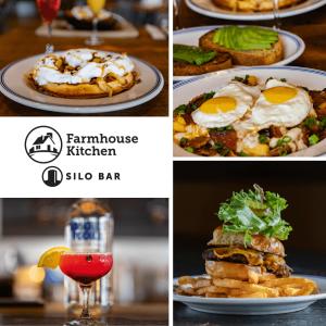 Farmhouse Kitchen and Silo Bar