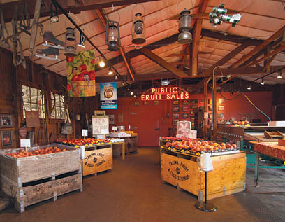 Yakima fruit stands