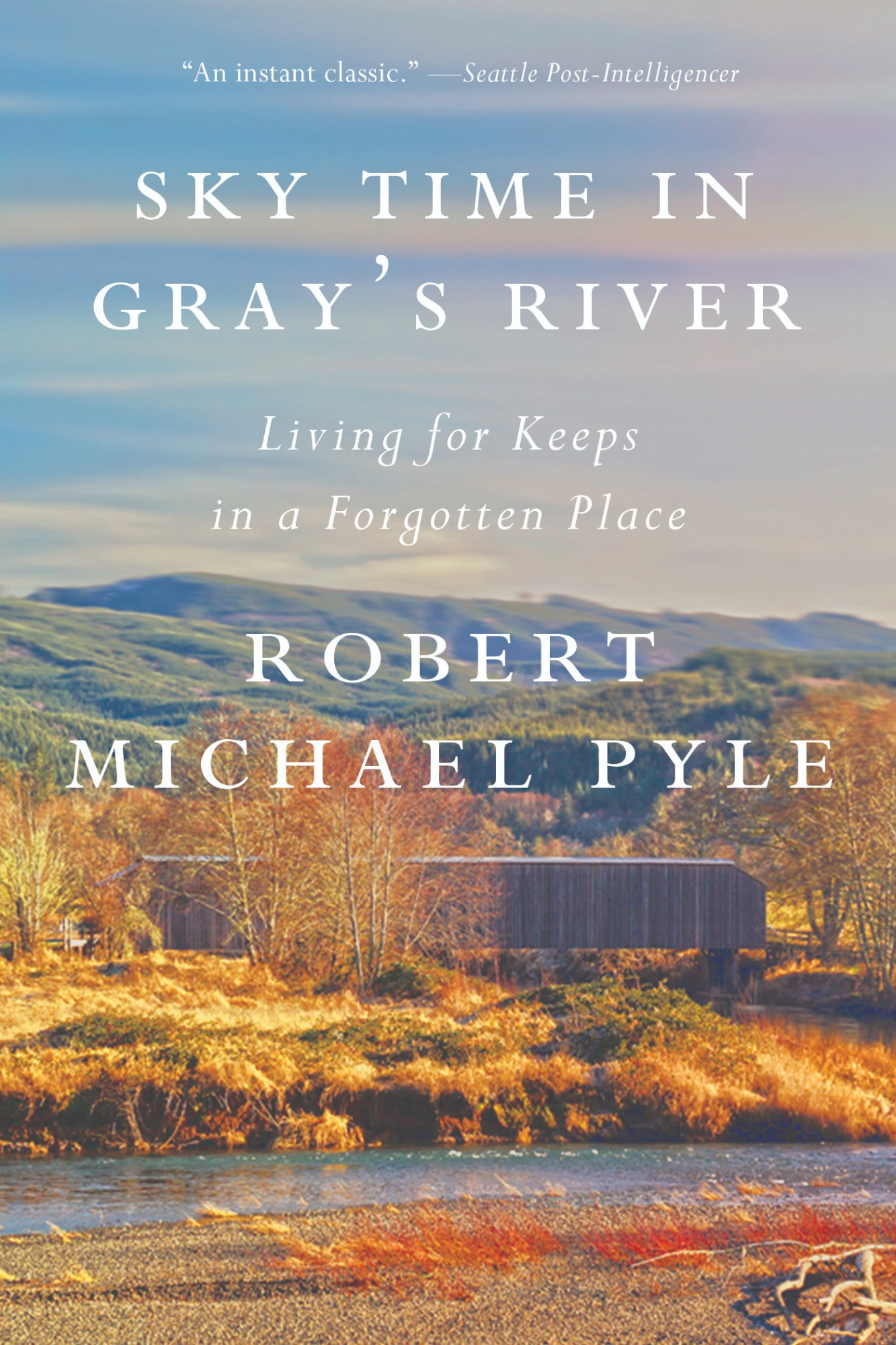 Sky Time in Gray's River book cover