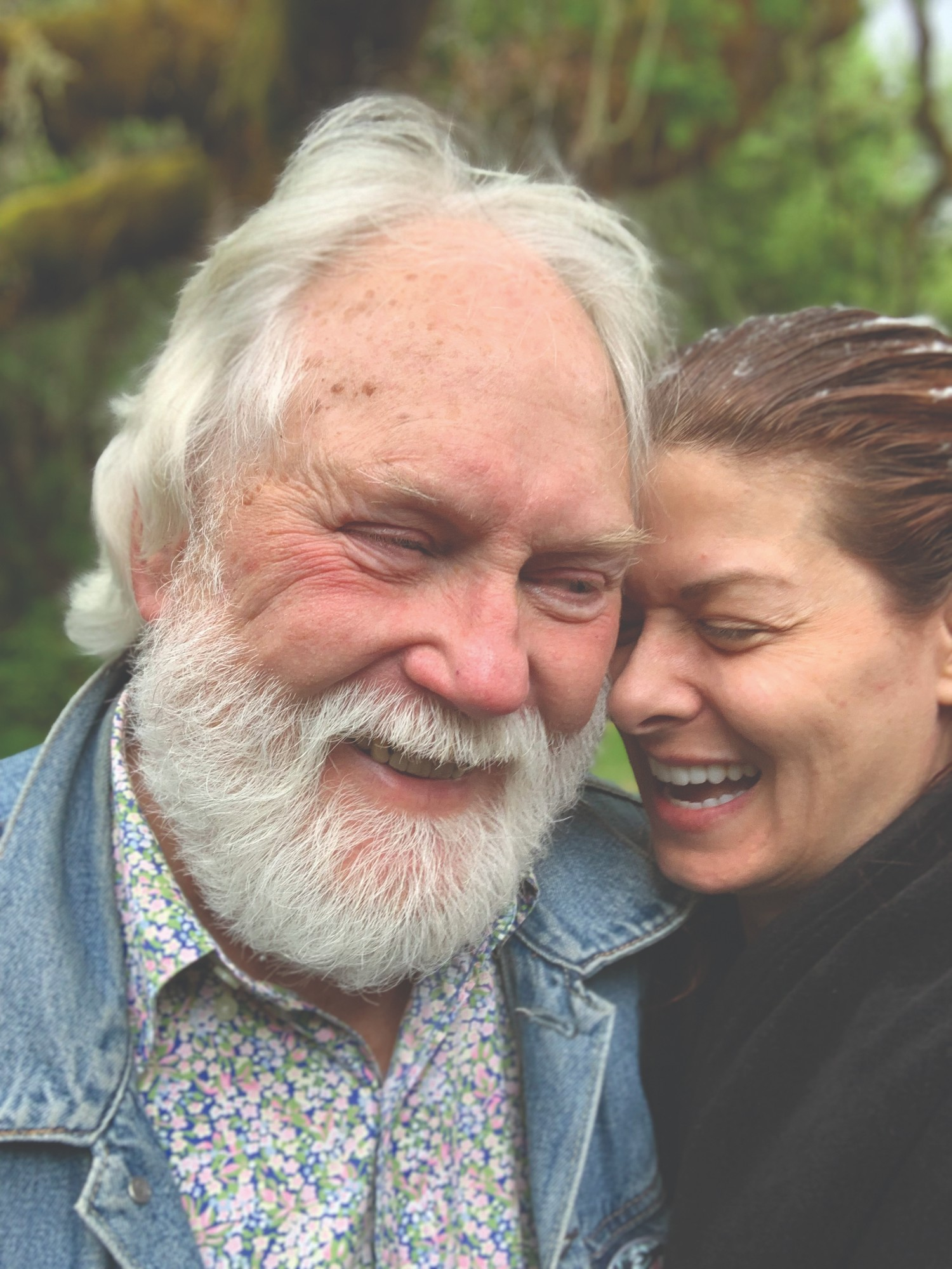 Robert Pyle and Debra Messing