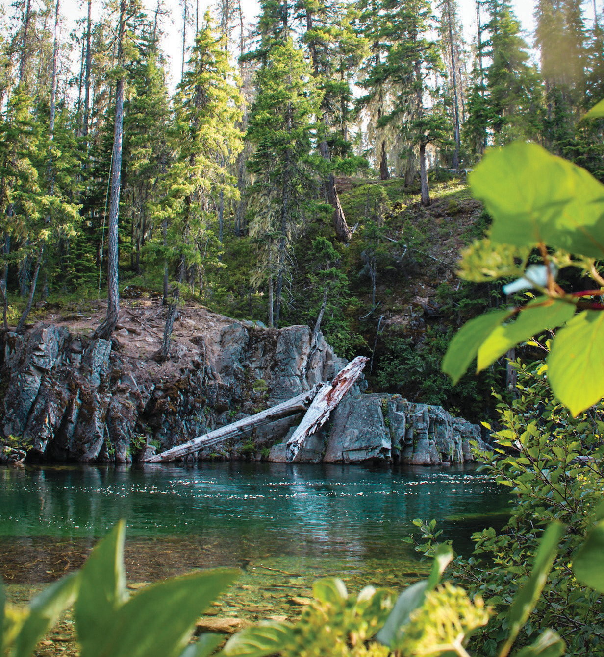 For a sweet summer escape in the woods, try Cooper Hole near Salmon La Sac Campground on the edge of the Alpine Lakes Wilderness.