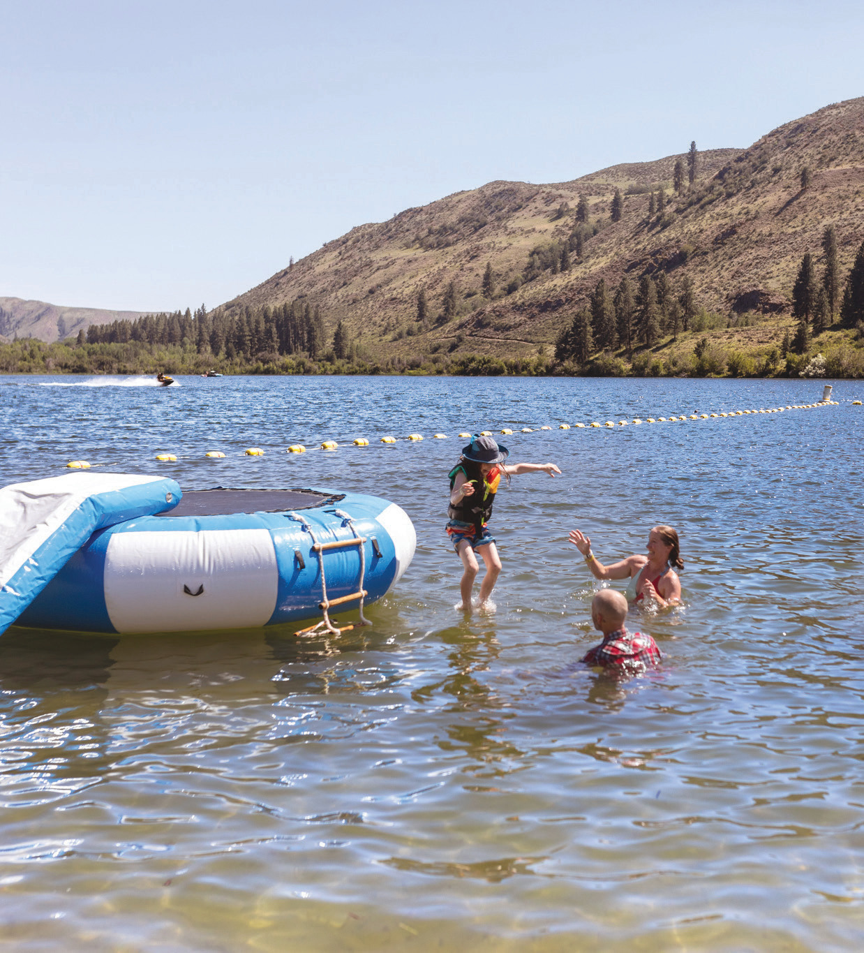 Pearrygin Lake offers up family fun outside of Winthrop.