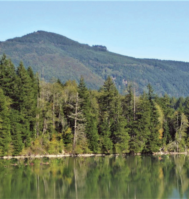 Escape the crowds at Lake Scanewa off the White Pass Scenic Byway.