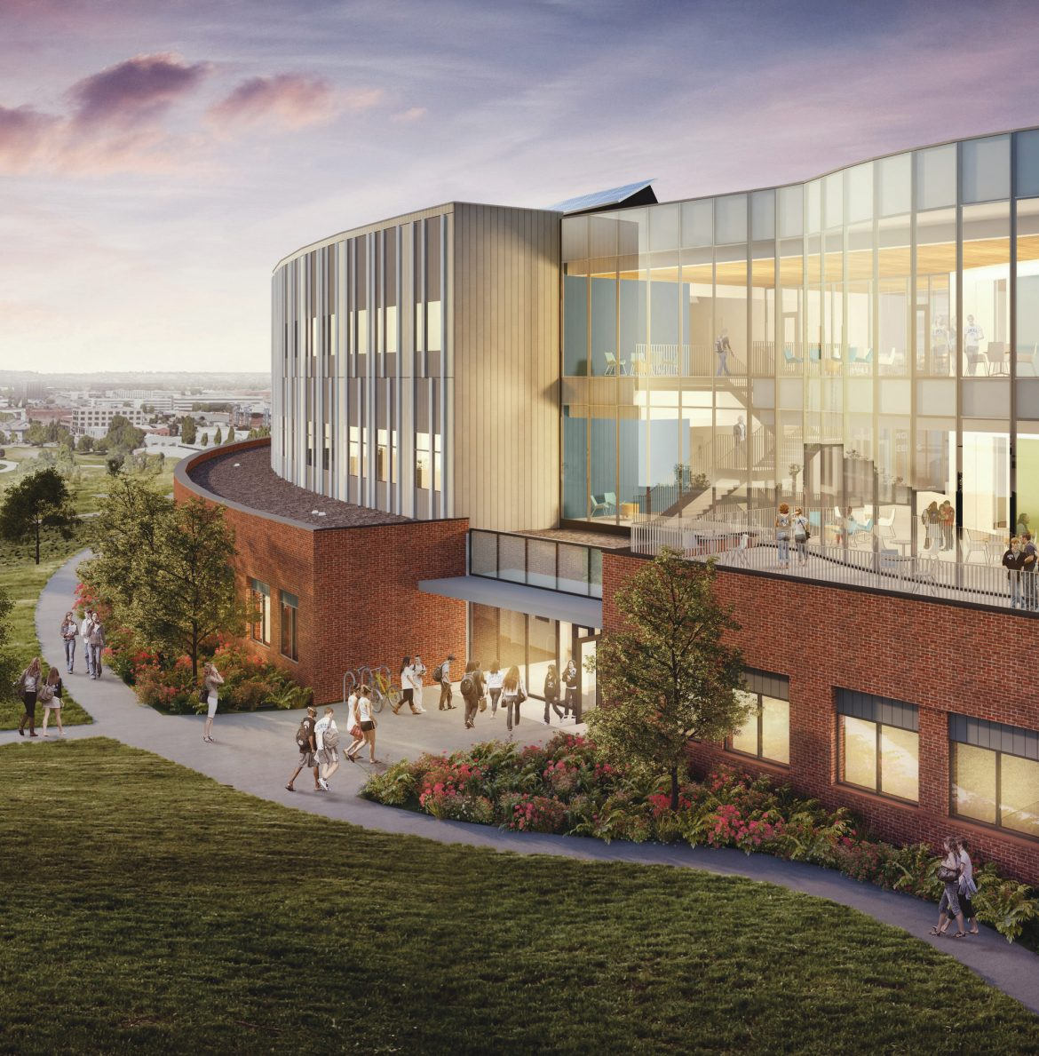 Gonzaga's John and Joan Bollier Family Center for Integrated Science and Engineering