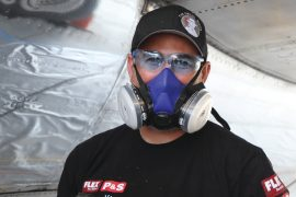 Automobile detailer Chris Lee was selected for this year's Air Force One detailing team.