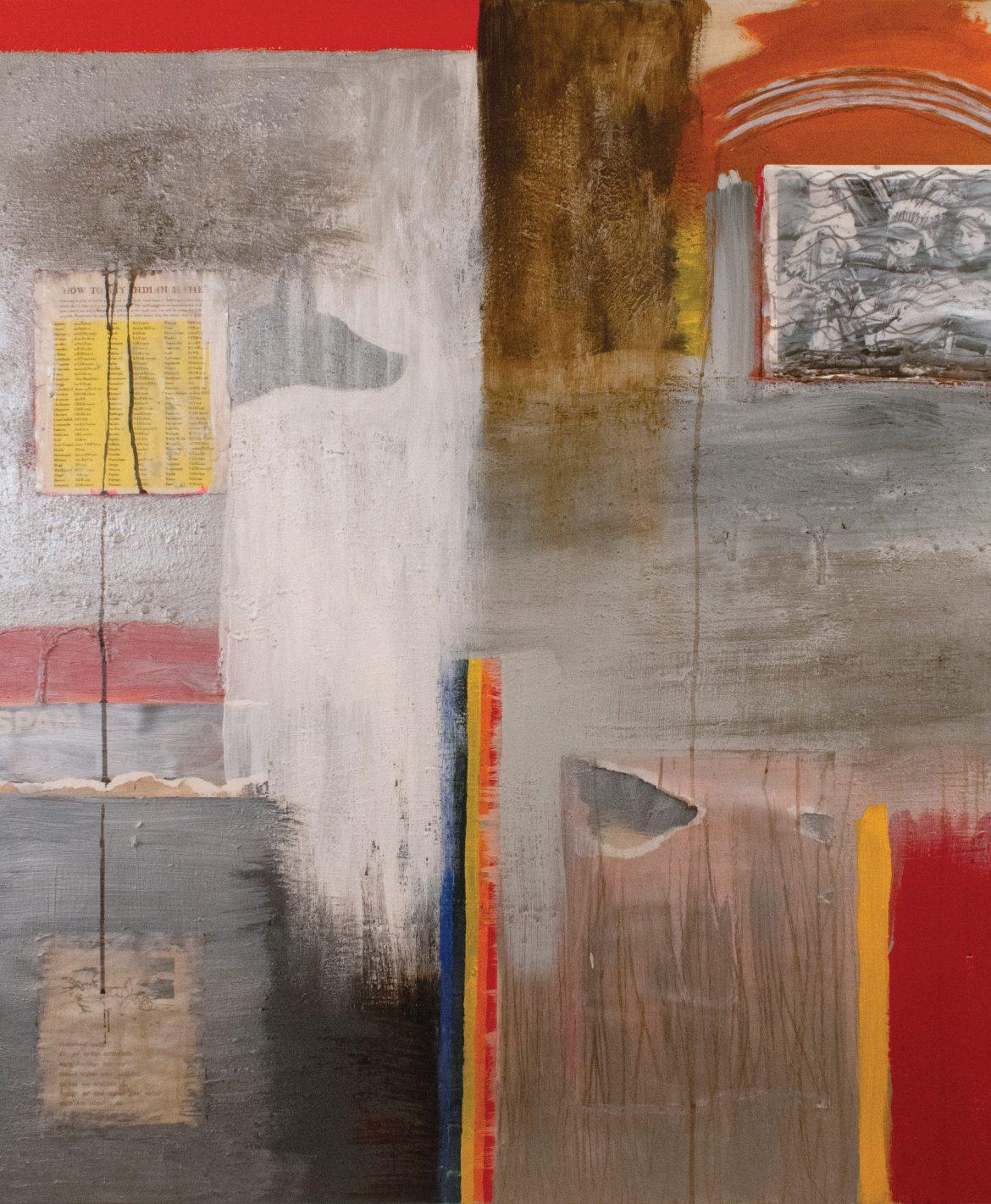 """Assimilation #4"" by John Feodorov."