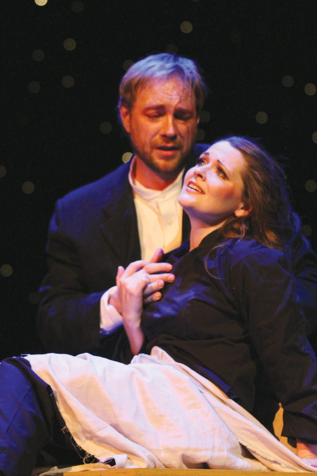 Dawn Wolski and Mark Walters perform Rigoletto with Opera Coeur d'Alene.