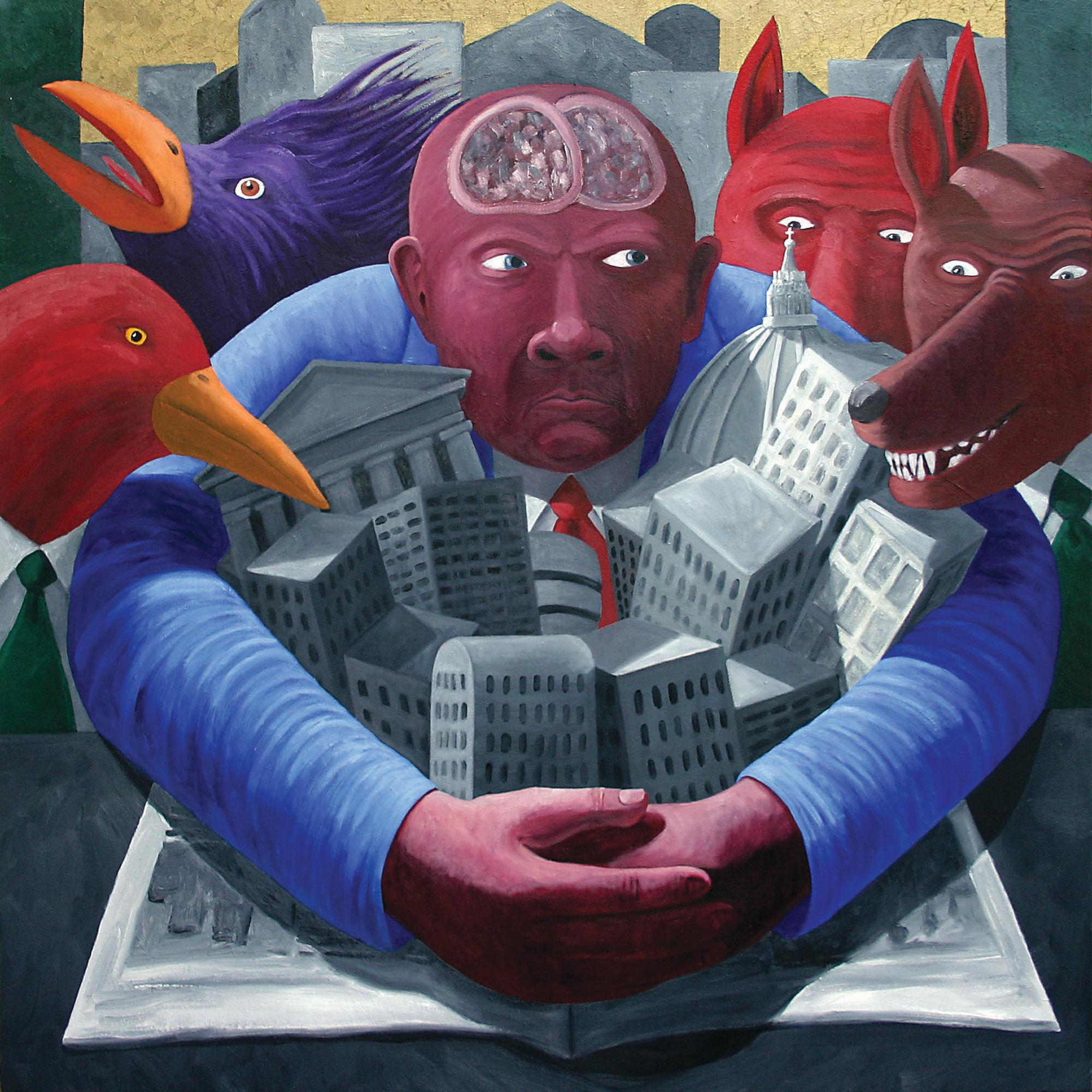 """Protecting Civilization"" by John Feodorov."