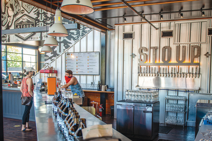 Stoup Brewing builds community in Kenmore with an approachable aesthetic.