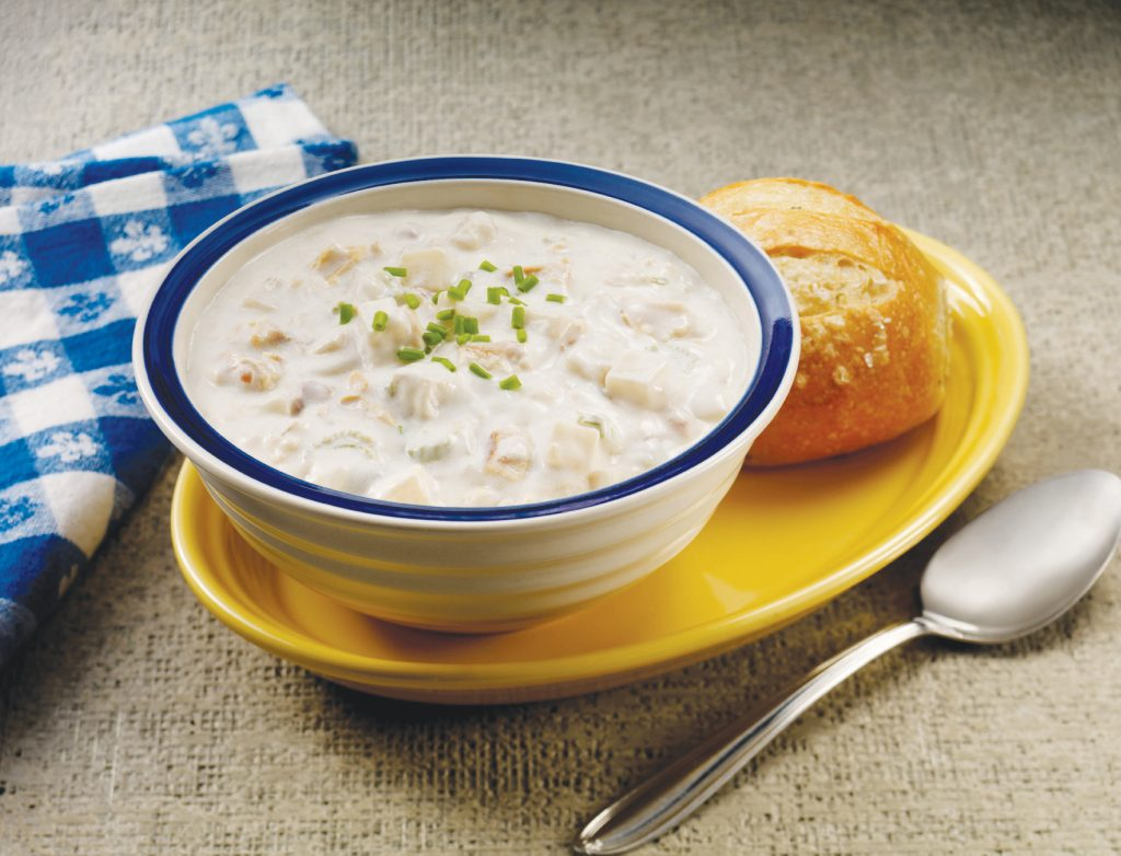 Refuel with a bowl of clam chowder at Ivar's Mukilteo Landing.