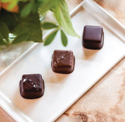Handcrafted chocolates from Sweet Mona's on Whidbey Island are a sweet end to any getaway.
